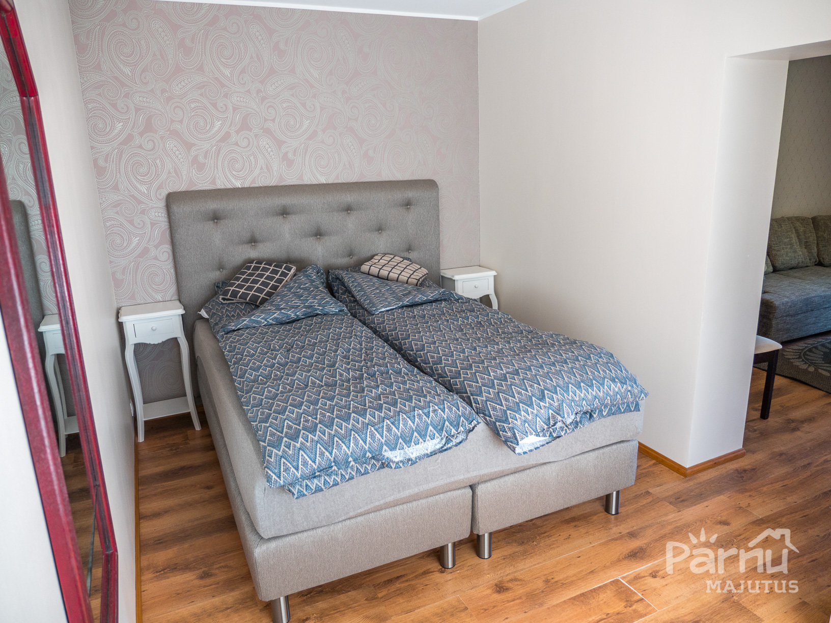 Cozy apartment for 4 in the city center of Pärnu
